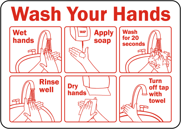 6 steps wash hand - What To Do If You Get Thrush While Breastfeeding