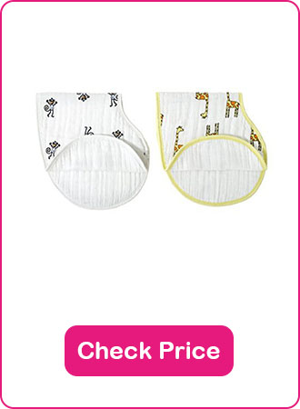 Aden Anais Burpy Bib - The 7 Best Baby Bibs To Keep Your Baby Clean (2020 Reviews)