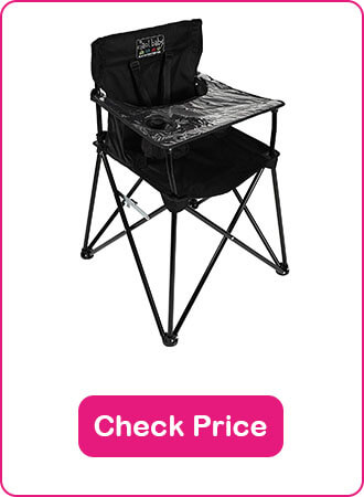 Ciao Baby Portable High Chair - The 6 Best Folding High Chairs to Keep Your Baby Safe in 2020