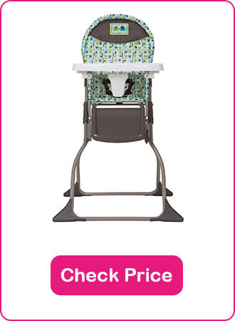 Cosco Simple Fold High Chair - The 6 Best Folding High Chairs to Keep Your Baby Safe in 2020