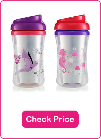 Gerber Advance Developmental Insulated Cup - The 10 Best Sippy Cups Of 2020 - The Expert Guide