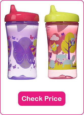 Gerber Hard Spout Sippy Cup - The 10 Best Sippy Cups Of 2020 - The Expert Guide
