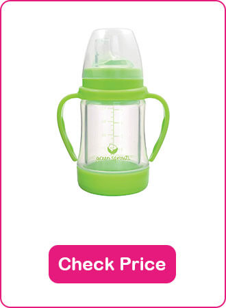 Green Sprouts Glass Sip Straw Cup - The 10 Best Sippy Cups Of 2020 - The Expert Guide