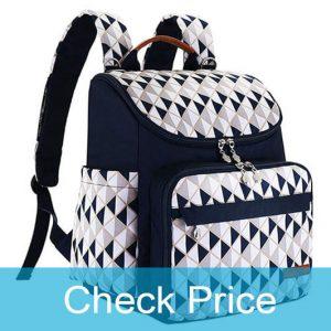HYBLOM Backpack Diaper Bag with stroller straps