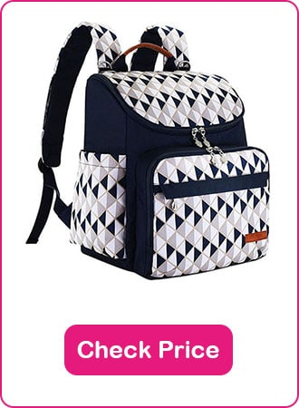 HYBLOM diaper backpack with stroller straps 1 - What are The Best Backpack Diaper Bags: Why & How to Pick