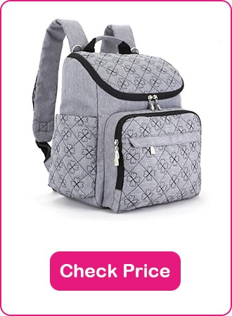 HYBLOM diaper bag backpack 1 - What are The Best Backpack Diaper Bags: Why & How to Pick