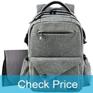 HapTim Multi-Function Backpack Diaper Bag