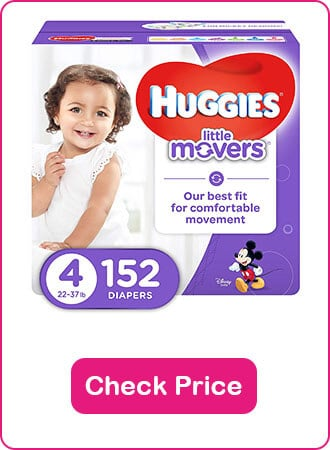 Huggies Little Movers Diapers - The 9 Best Disposable Diapers (2020 Reviews)