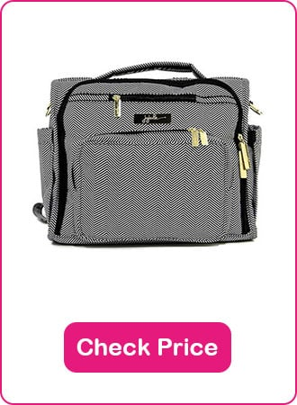 JuJuBe BFF Convertible Diaper bag 1 - What are The Best Backpack Diaper Bags: Why & How to Pick