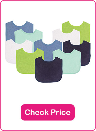 Luvable Friends Baby Bibs - The 7 Best Baby Bibs To Keep Your Baby Clean (2020 Reviews)