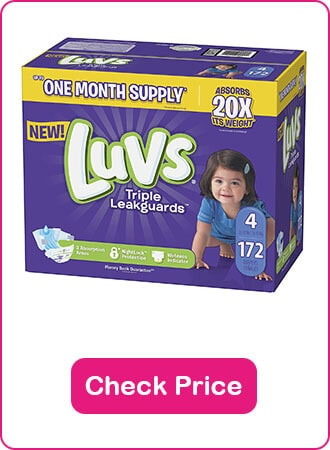 Luvs Ginormous Box Of Leak proof Diapers - The 9 Best Disposable Diapers (2020 Reviews)