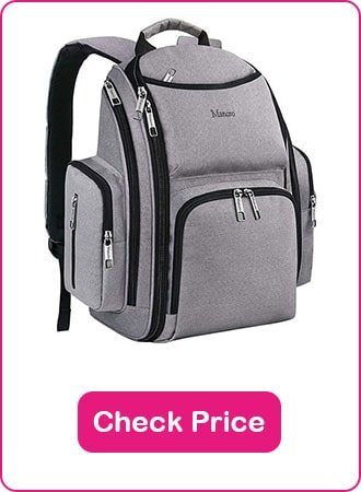Mancro diaper bag backpack 1 - What are The Best Backpack Diaper Bags: Why & How to Pick
