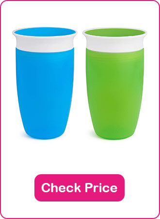 Munchkin Miracle 360 Trainer Cup - The 10 Best Sippy Cups Of 2020 - The Expert Guide