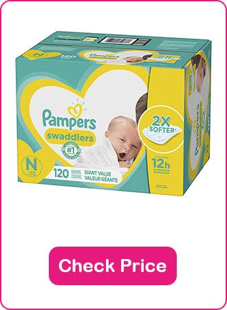 Pampers Disposable Diapers - The 9 Best Disposable Diapers (2020 Reviews)