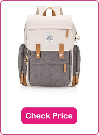 Parker Baby Co Diaper Bag Backpack 2 - What are The Best Backpack Diaper Bags: Why & How to Pick