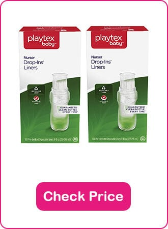Playtex Nurser With Disposable Liners - The 10 Best Baby Bottles You Should Know In 2020