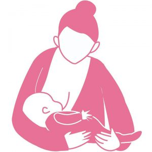 cradle hold 300x300 - Breastfeeding Positions for a Successful Start