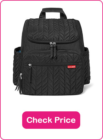 skip hop diaper backpack 1 - What are The Best Backpack Diaper Bags: Why & How to Pick